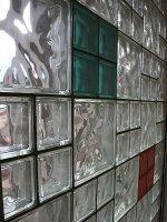 szklane ściany